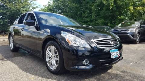 2015 Infiniti Q40 for sale at A1 Auto Sales in Chisago City MN