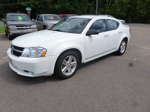 2009 Dodge Avenger for sale at A1 Auto Sales in Chisago City MN