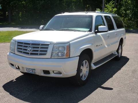 2003 Cadillac Escalade ESV for sale at A1 Auto Sales in Chisago City MN