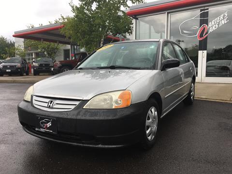2002 Honda Civic for sale in South Burlington VT