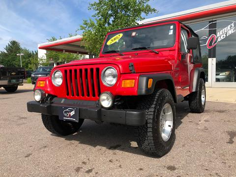 2002 Jeep Wrangler for sale in South Burlington, VT