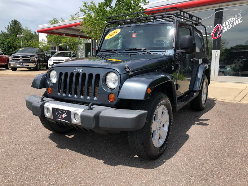 Jeep Wrangler Rims And Tire Packages >> 2008 Jeep Wrangler 4x4 Sahara 2dr Suv W Side Airbag Package