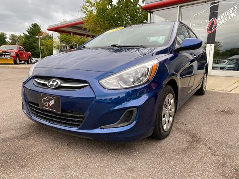 Used Cars Burlington Vt >> 2016 Hyundai Accent For Sale In South Burlington Vt