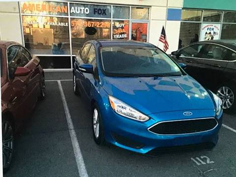 2016 Ford Focus for sale in Chantilly, VA