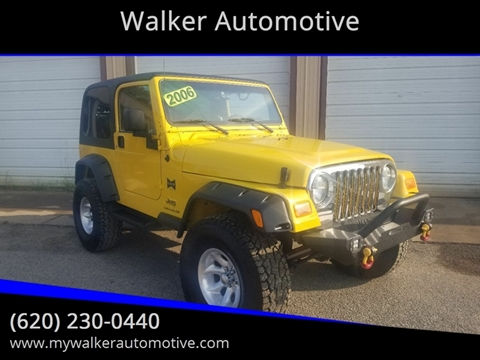 2006 Jeep Wrangler Sport for sale at Walker Automotive in Frontenac KS
