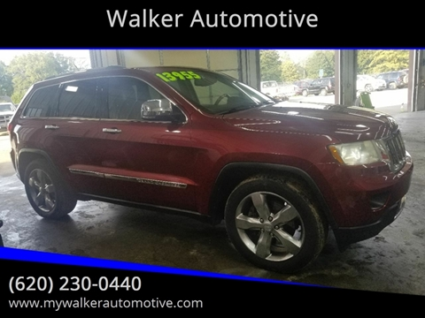 2012 Jeep Grand Cherokee Overland for sale at Walker Automotive in Frontenac KS