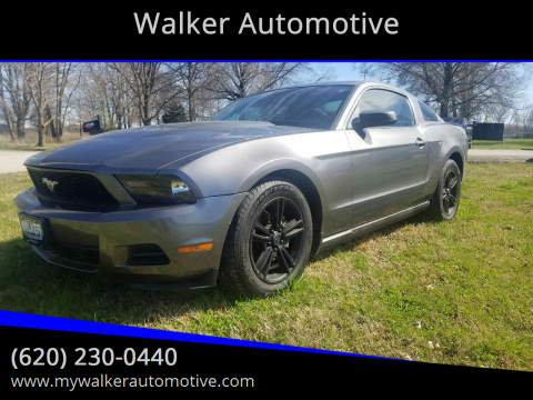 2010 Ford Mustang V6 Premium for sale at Walker Automotive in Frontenac KS