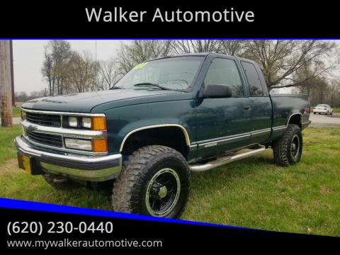 1997 Chevrolet C/K 1500 Series K1500 Silverado for sale at Walker Automotive in Frontenac KS