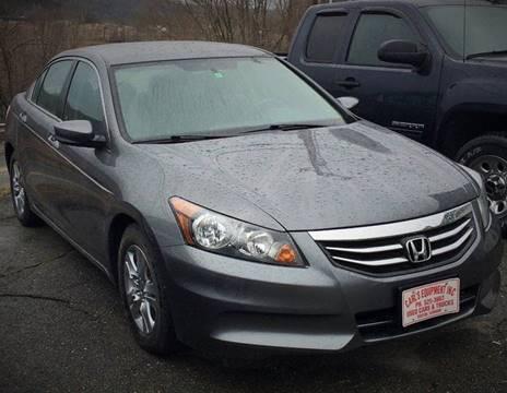 2012 Honda Accord for sale in Barton, VT