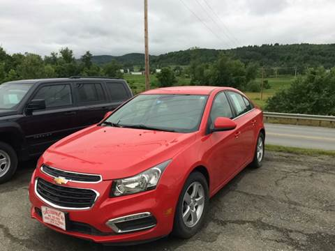2016 Chevrolet Cruze Limited for sale in Barton, VT