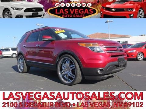 2012 Ford Explorer for sale in Las Vegas, NV