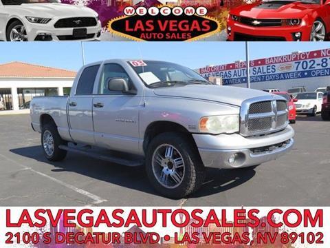2003 Dodge Ram Pickup 1500 for sale in Las Vegas, NV