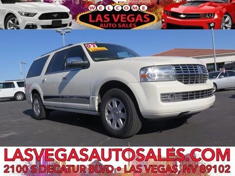 2007 Lincoln Navigator L for sale in Las Vegas, NV