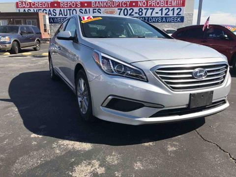 2016 Hyundai Sonata for sale in Las Vegas, NV