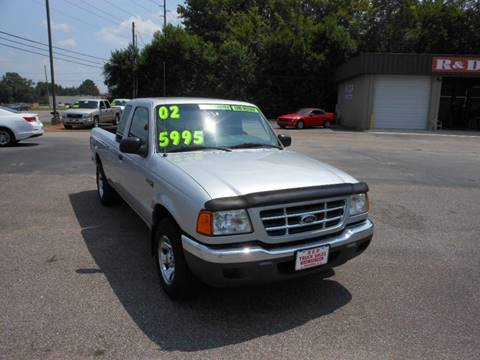 2002 Ford Ranger for sale in Meridianville, AL
