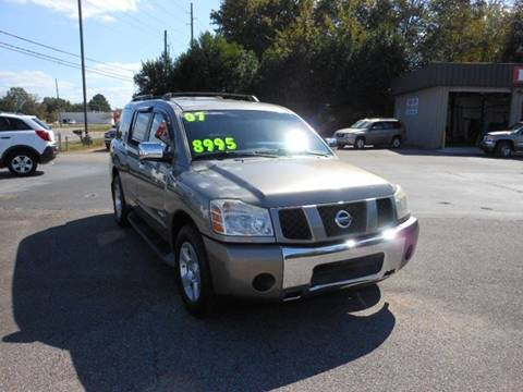 2007 Nissan Armada for sale in Meridianville, AL