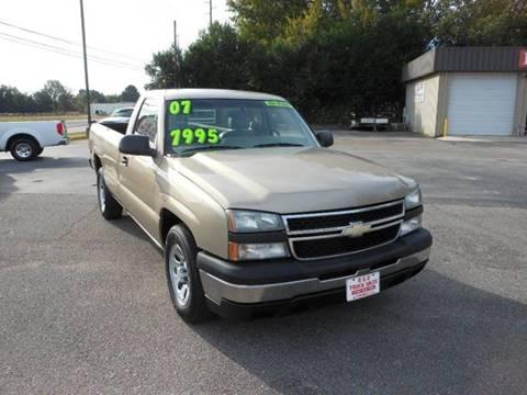 2007 Chevrolet Silverado 1500 for sale in Meridianville, AL