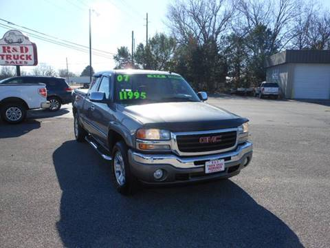 R And D Trucks >> Gmc Used Cars Commercial Trucks For Sale Meridianville R And D Truck
