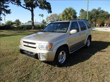 2000 Infiniti QX4 for sale in Sarasota, FL