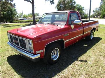 1987 GMC R/V 1500 Series for sale in Sarasota, FL