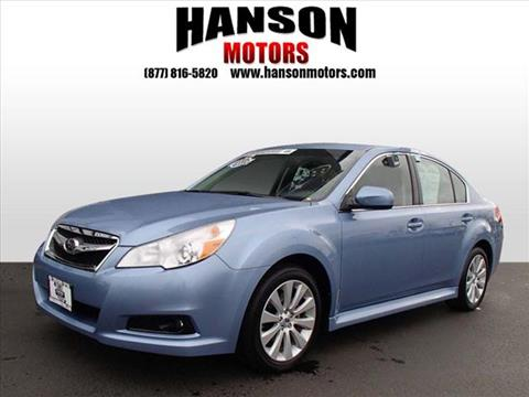 2012 Subaru Legacy for sale in Olympia, WA