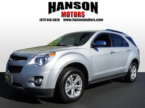 2013 Chevrolet Equinox for sale in Olympia WA