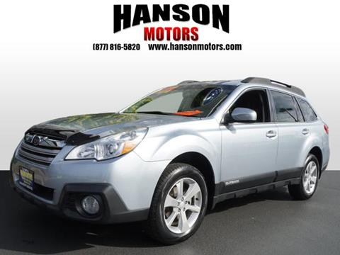2013 Subaru Outback for sale in Olympia WA