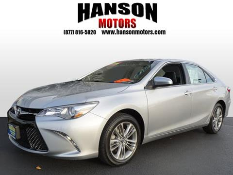 2015 Toyota Camry for sale in Olympia WA