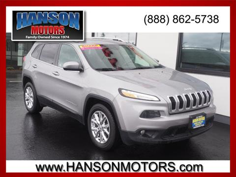 2015 Jeep Cherokee for sale in Olympia, WA