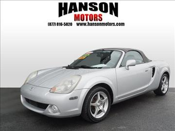 2003 Toyota MR2 Spyder for sale in Olympia, WA