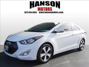 2014 Hyundai Elantra Coupe for sale in Olympia, WA
