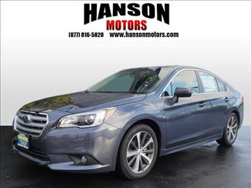 2017 Subaru Legacy for sale in Olympia, WA