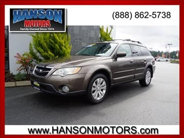 2009 Subaru Outback for sale in Olympia, WA