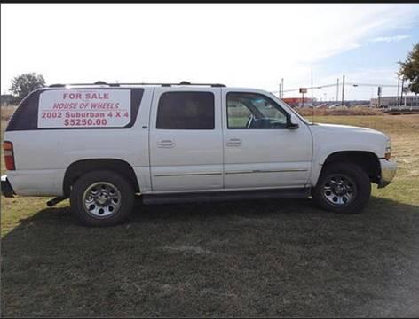 2002 Chevrolet Suburban for sale in Brownwood, TX
