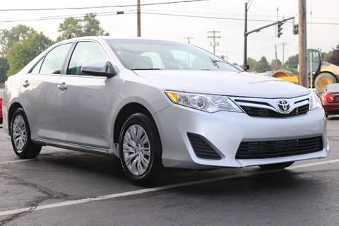 2013 Toyota Camry for sale at State Auto Group in Cuyahoga Falls OH