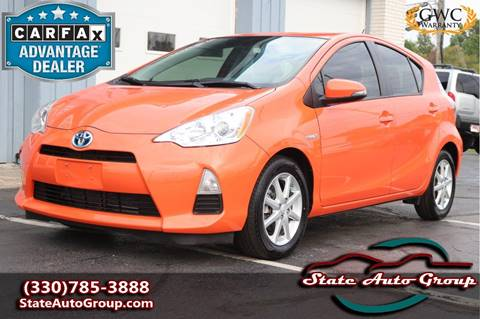 2013 Toyota Prius c for sale at State Auto Group in Cuyahoga Falls OH