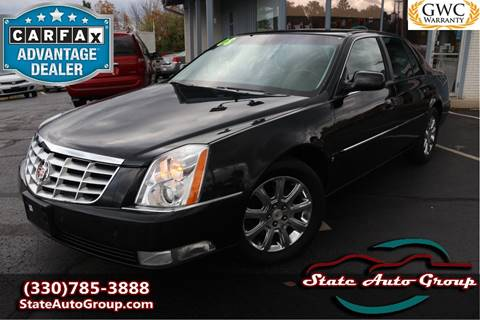 2008 Cadillac DTS for sale in Cuyahoga Falls, OH