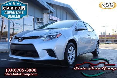 2016 Toyota Corolla for sale in Cuyahoga Falls, OH