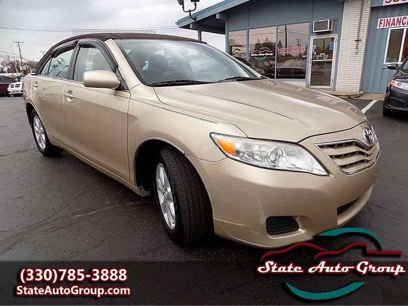 2011 Toyota Camry for sale at State Auto Group in Cuyahoga Falls OH