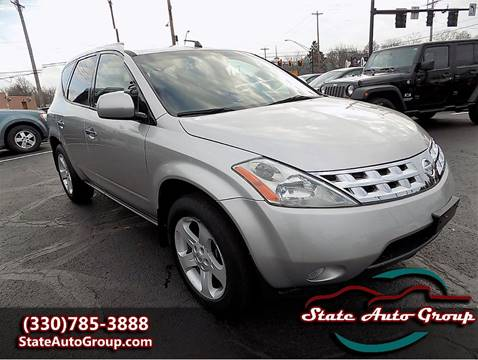 2003 Nissan Murano for sale in Cuyahoga Falls, OH