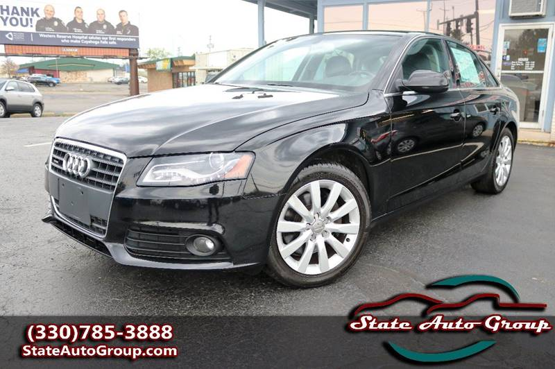 2010 Audi A4 for sale at State Auto Group in Cuyahoga Falls OH