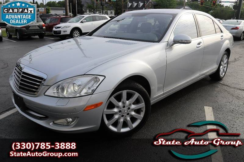 2007 Mercedes-Benz S-Class for sale at State Auto Group in Cuyahoga Falls OH