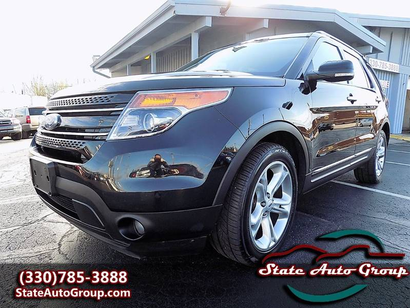 2012 Ford Explorer for sale at State Auto Group in Cuyahoga Falls OH