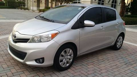 2012 Toyota Yaris for sale in Margate FL