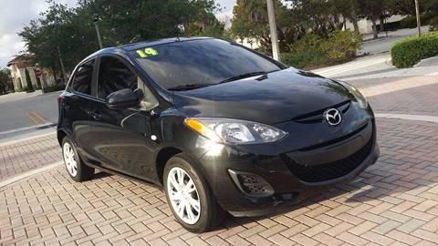 2014 Mazda MAZDA2 for sale in Margate, FL