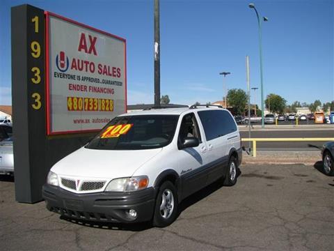 2004 Pontiac Montana for sale in Mesa, AZ