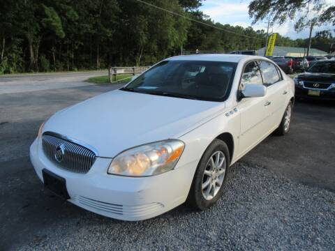 2008 Buick Lucerne for sale at Bullet Motors Charleston Area in Summerville SC