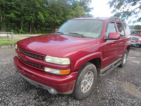 2004 Chevrolet Tahoe for sale at Bullet Motors Charleston Area in Summerville SC