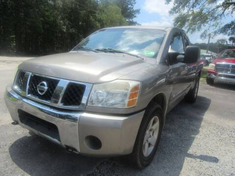 2007 Nissan Titan for sale at Bullet Motors Charleston Area in Summerville SC