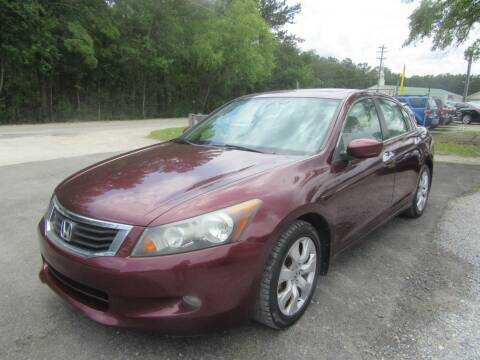 2008 Honda Accord for sale at Bullet Motors Charleston Area in Summerville SC